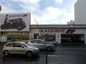 Fachada Glassdrive Perillo