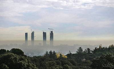 Protocolo de actuación en Madrid en casos de alta contaminación