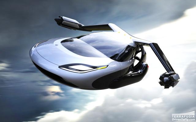 Siguiente paso, el coche autónomo volador