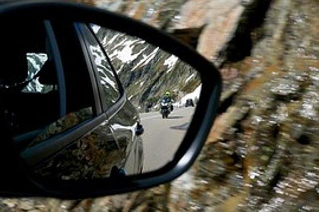 Colocación de los espejos retrovisores