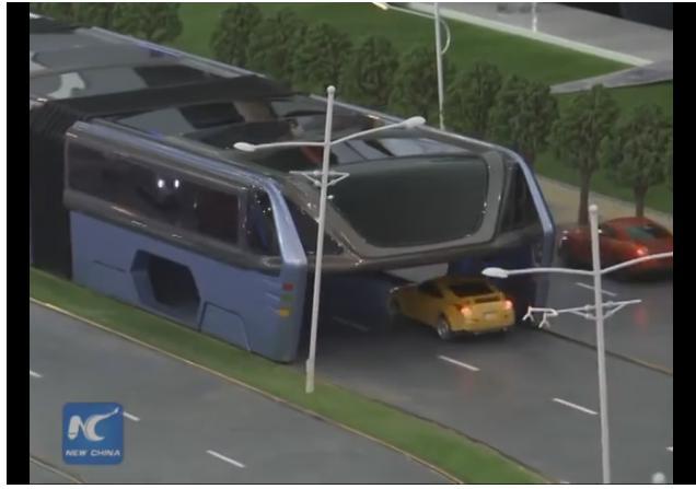 El autobús del futuro, ya está aquí