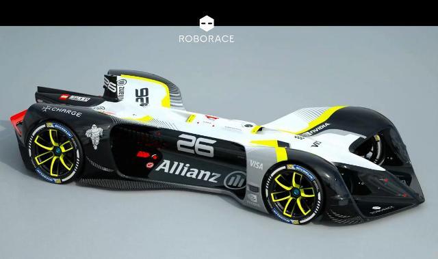 Roborace, la competición de coches autónomos